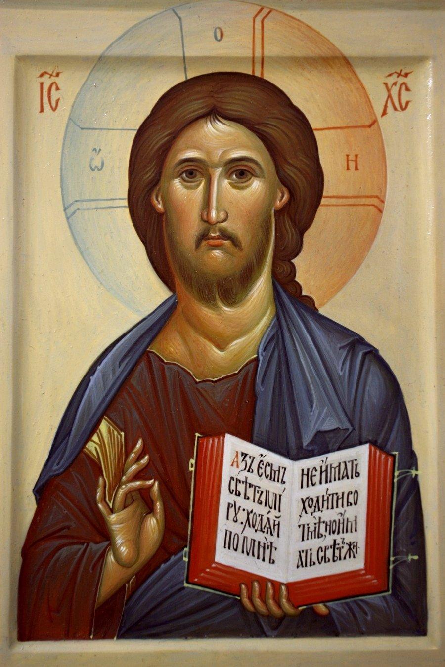 Господь Вседержитель. Иконописец Наталия Пискунова.