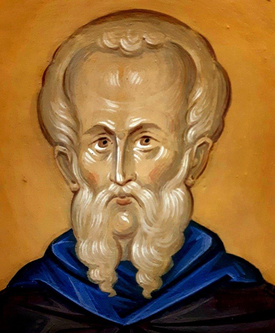 Святой Преподобный Феодор Студит, Исповедник. Современная церковная роспись.