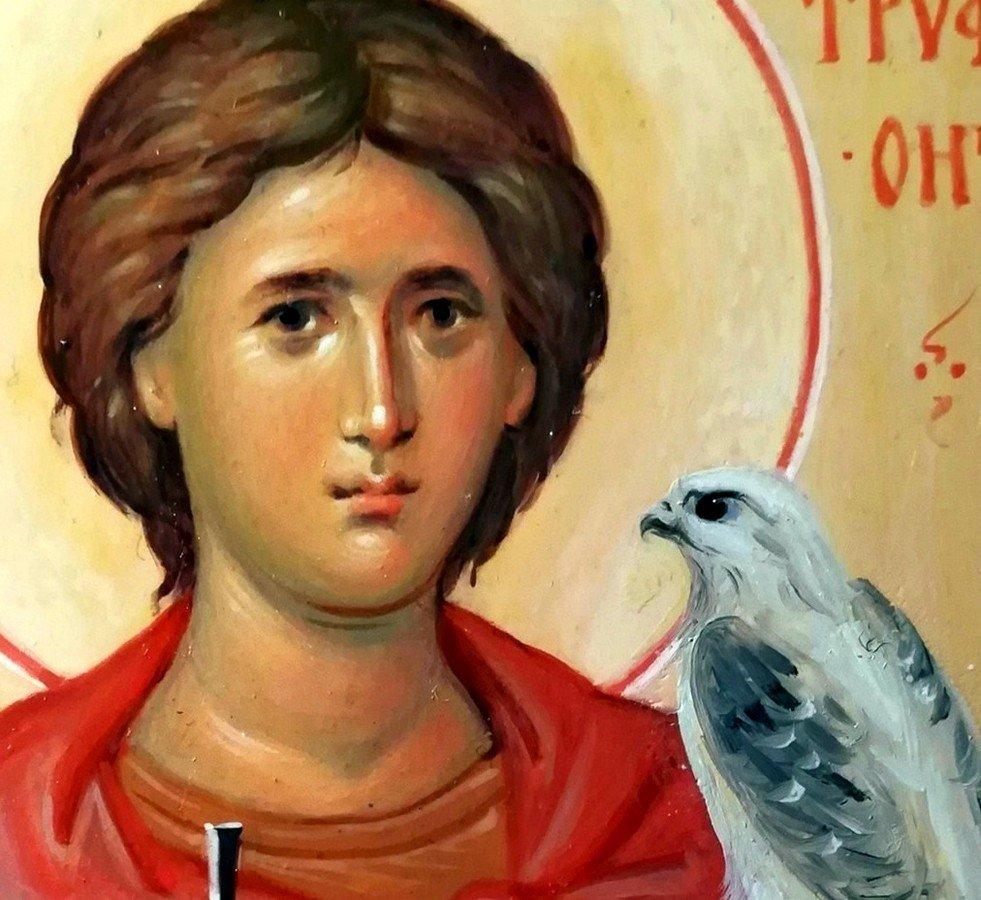 Святой Мученик Трифон. Иконописец Наталия Пискунова.