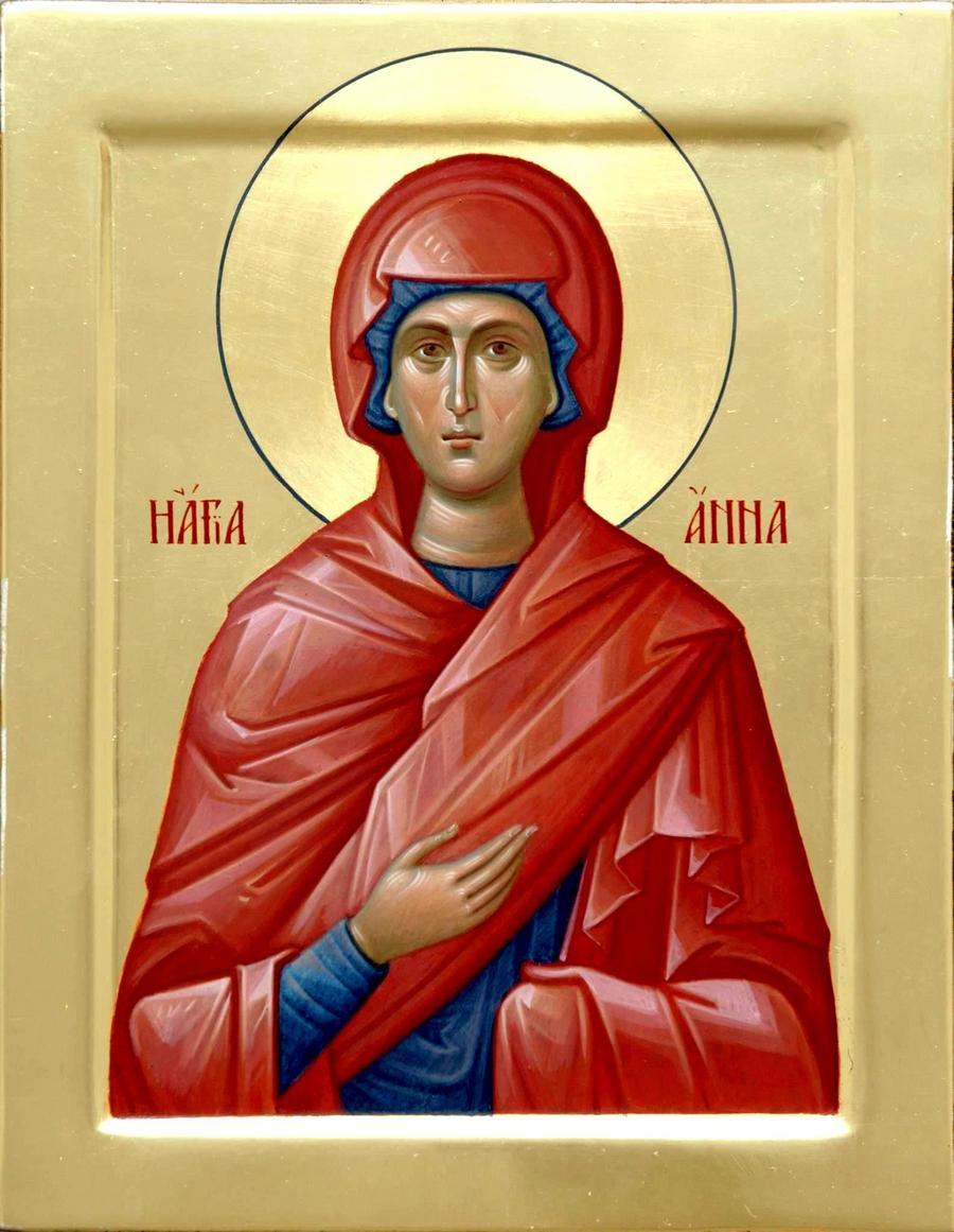 Святая Праведная Анна Пророчица, дщерь Фануилова.