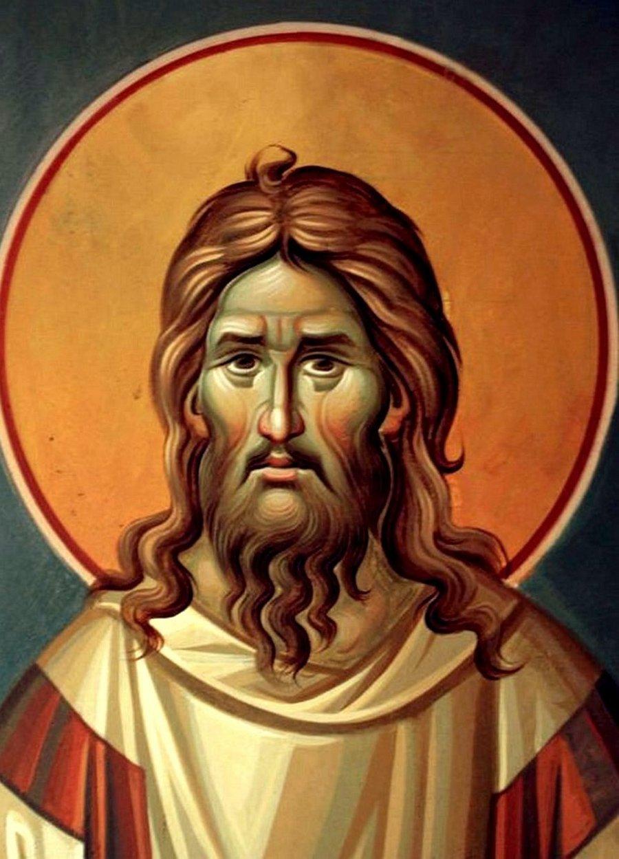 Святой Преподобный Алексий, человек Божий. Иконописец Димитрис Маниатис.