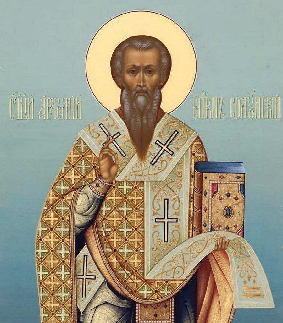 Святитель Артемон (Артемий), Епископ Селевкийский, Солунский.
