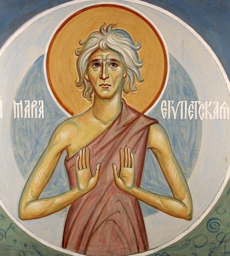 Святая Преподобная Мария Египетская.