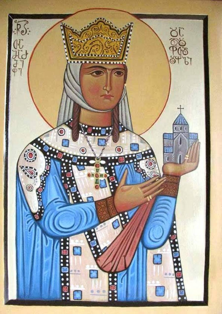 Святая Благоверная Тамара Великая, царица Грузии.