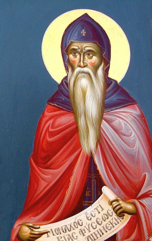 Святой Преподобный Серафим с горы Домва.