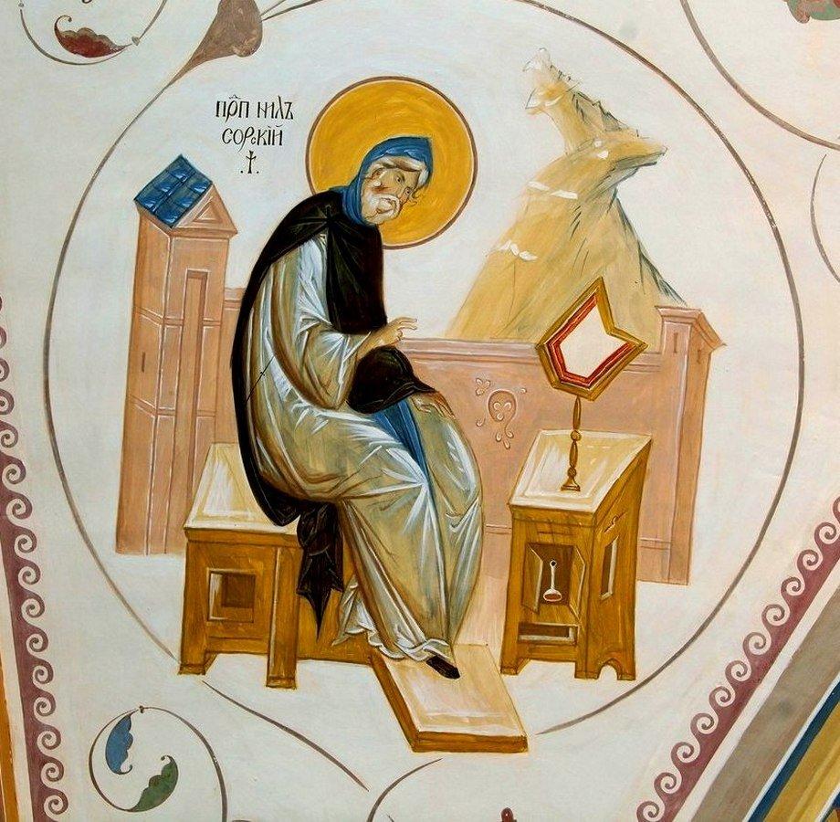Святой Преподобный Нил Сорский.