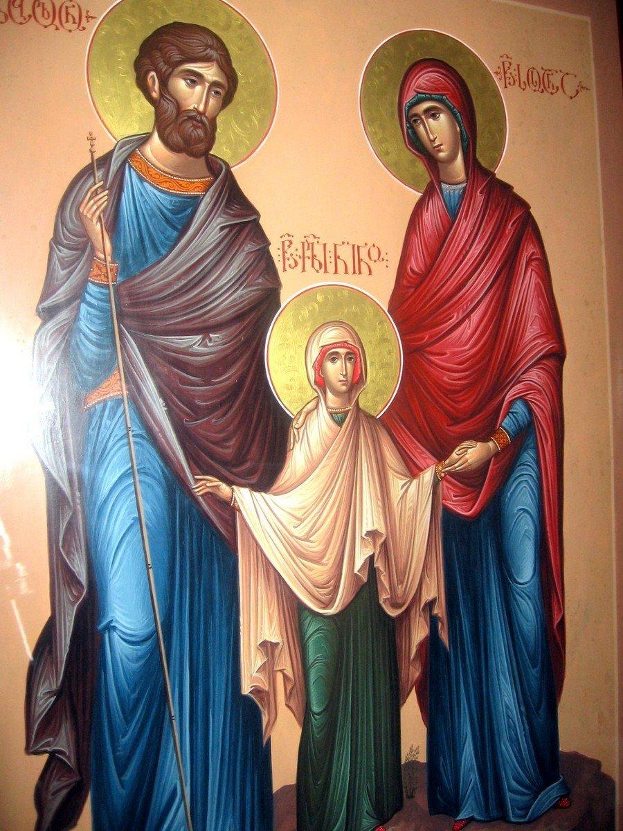 Святые Преподобные Завулон и Сосанна, родители Святой Равноапостольной Нины, Просветительницы Грузии.