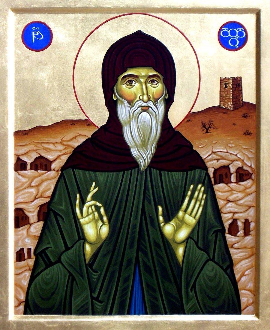 Святой Преподобный Додо Гареджийский.