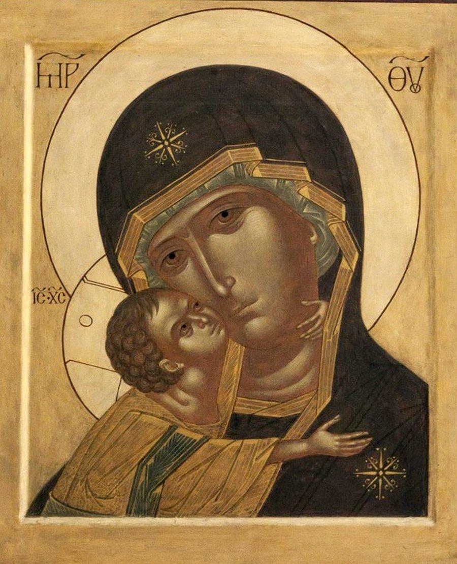 Игоревская икона Божией Матери. Иконописец Ирина Зарон.