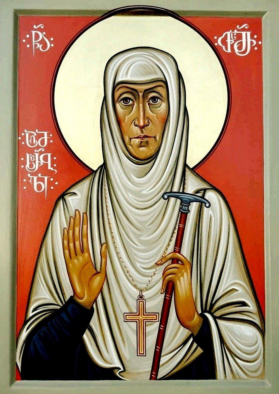 Святая Преподобноисповедница схиигумения Фамарь (Марджанова).