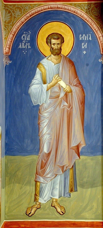 Святой Апостол Варнава. Иконописец Александр Деркачёв.