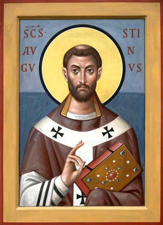 Святой Блаженный Августин, Епископ Иппонийский.