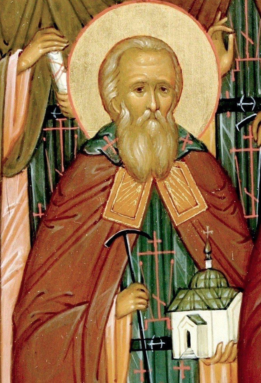 Святой Преподобный старец Моисей Оптинский.