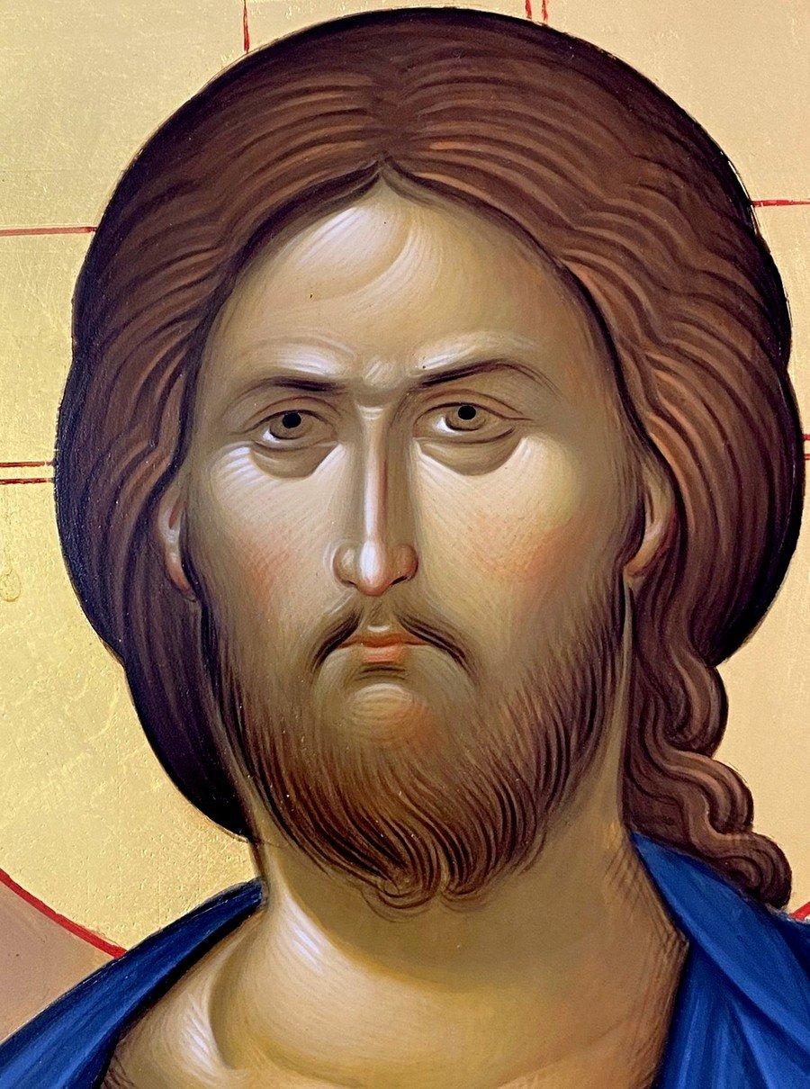 Христос Пантократор. Фрагмент иконы.
