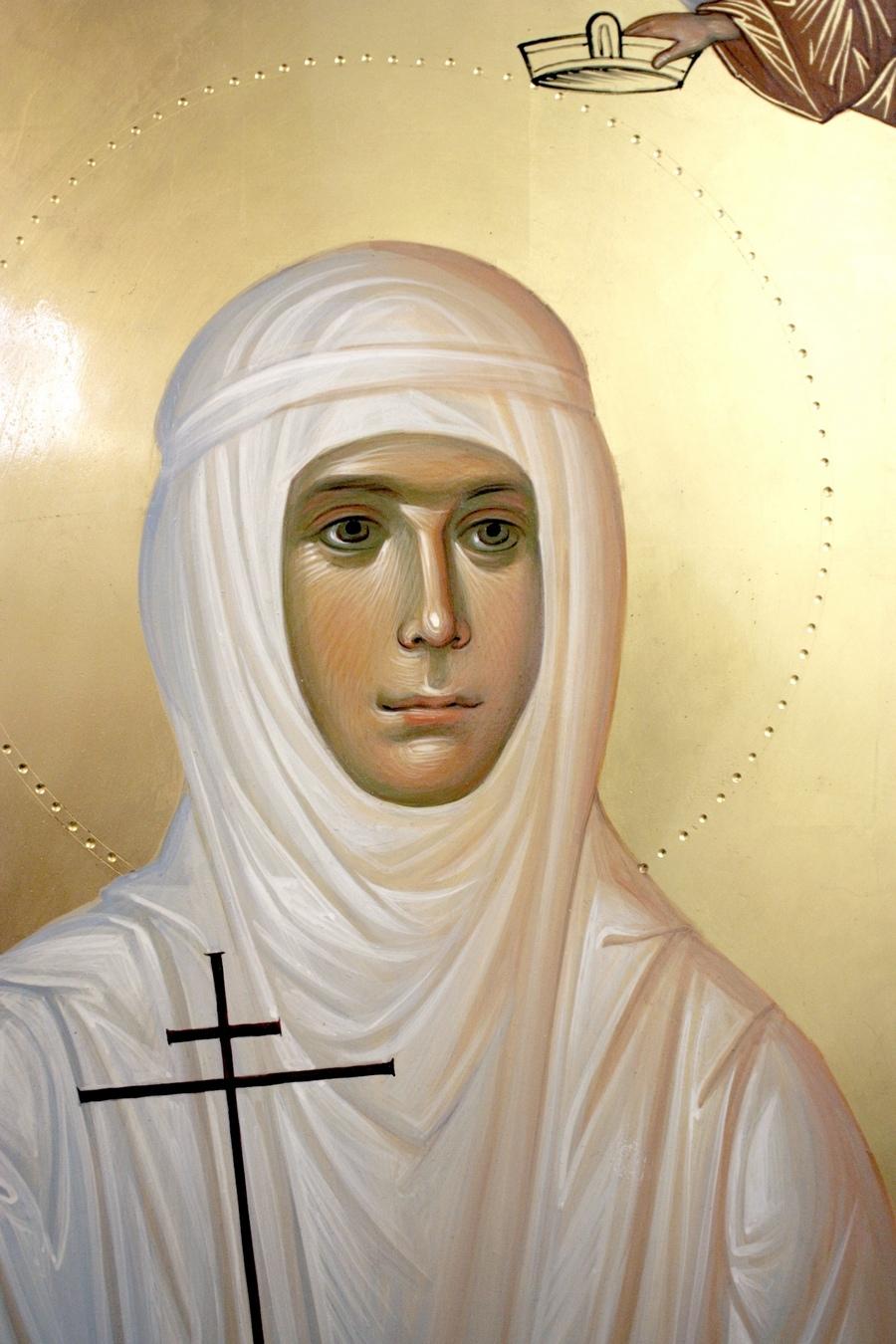 Святая Преподобномученица инокиня Варвара. Иконописец Наталия Пискунова.
