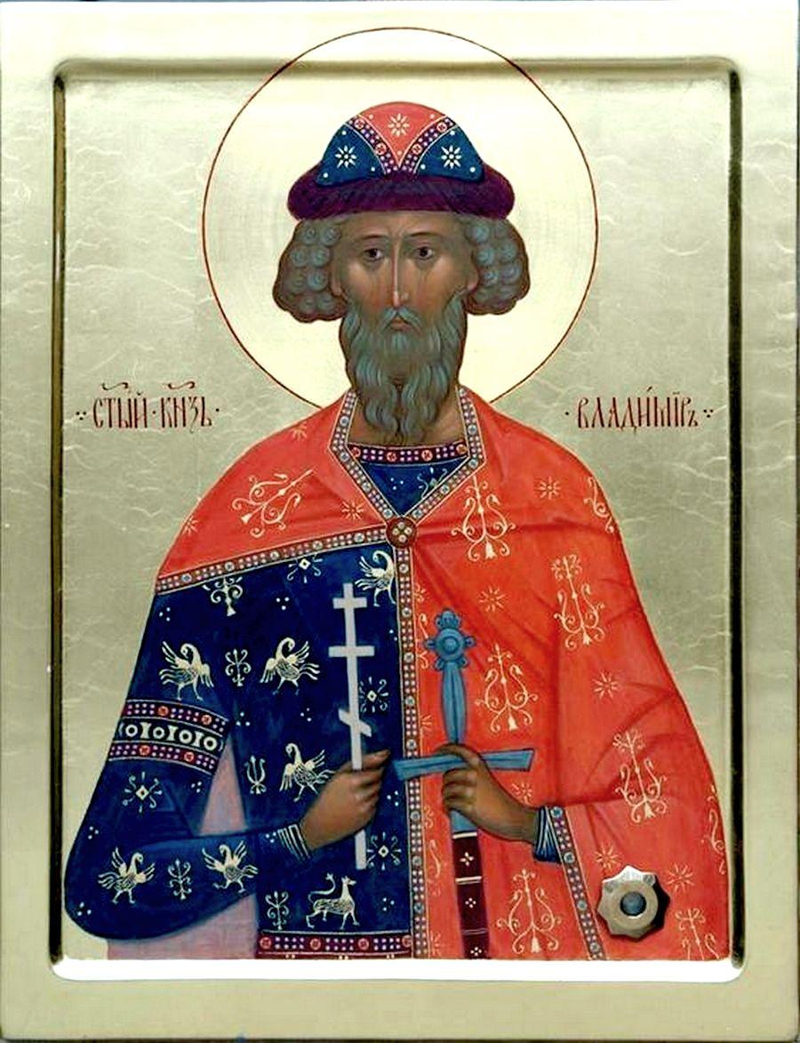 Святой Равноапостольный Великий Князь Владимир, Креститель Руси.