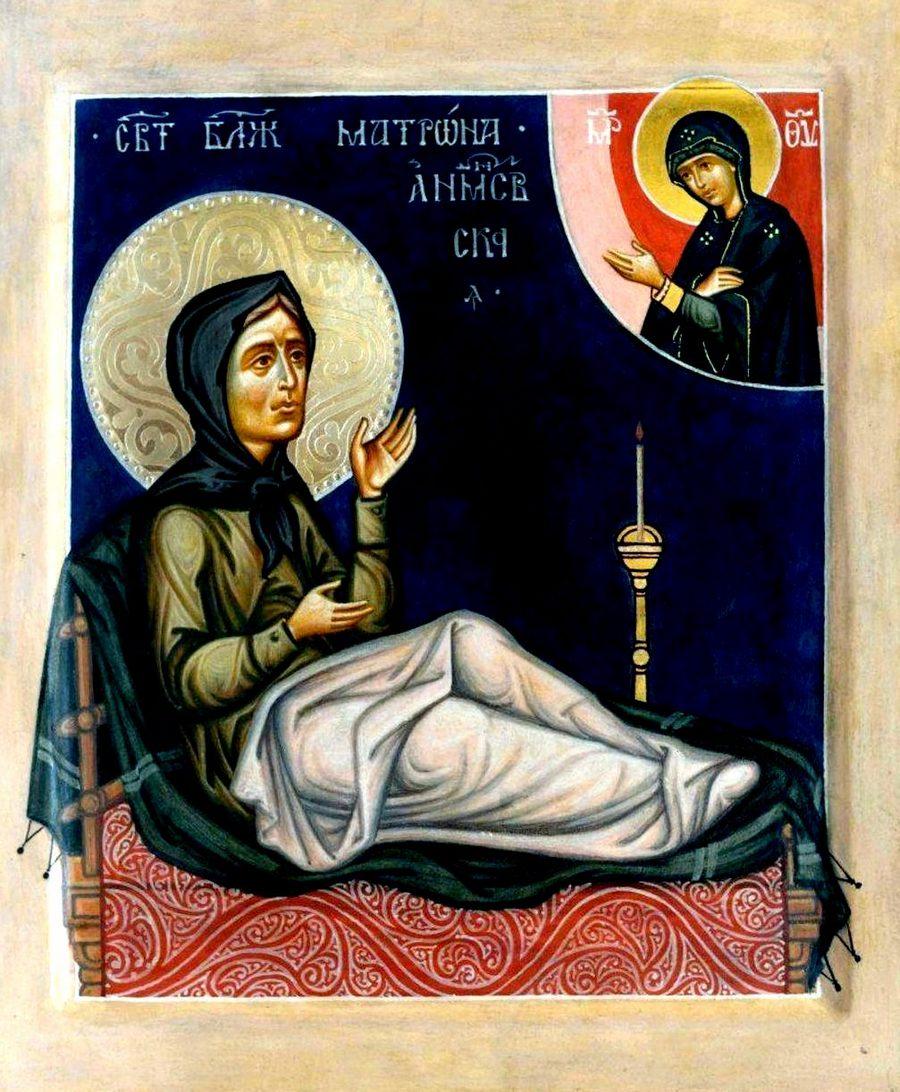 Святая Блаженная Матрона Анемнясевская, Исповедница.