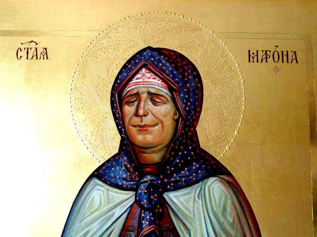 Святая Блаженная Матрона Московская.