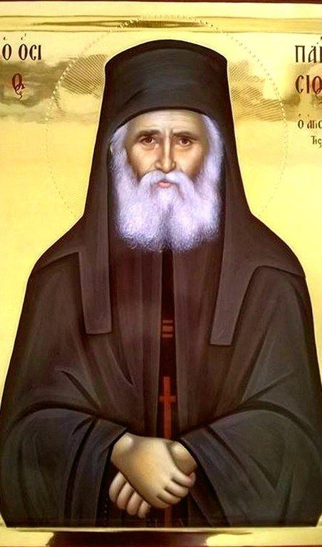 Святой Преподобный Паисий Святогорец.
