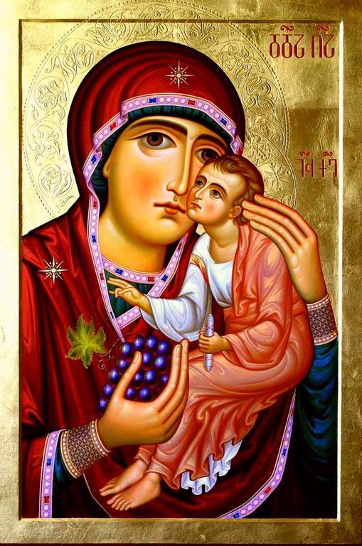 "Икона Божией Матери ""Ты еси Лоза"" (""Шен хар Венахи"")."