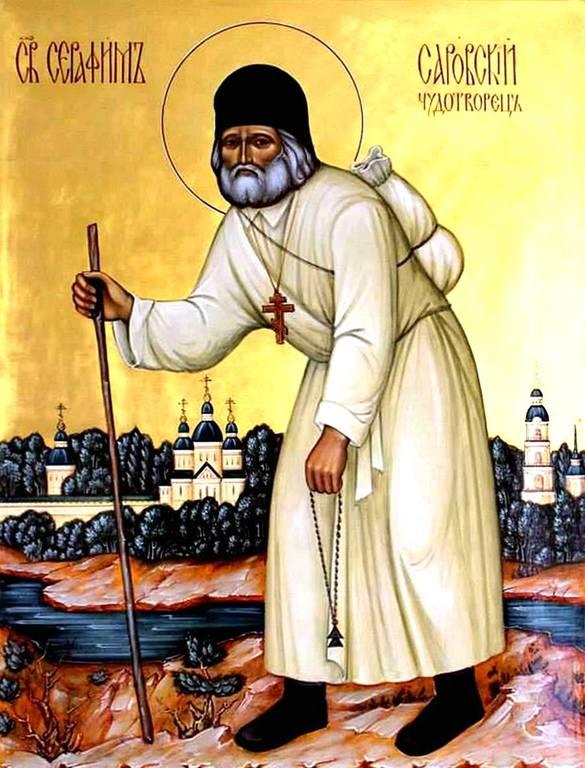 Святой Преподобный Серафим Саровский, Чудотворец.