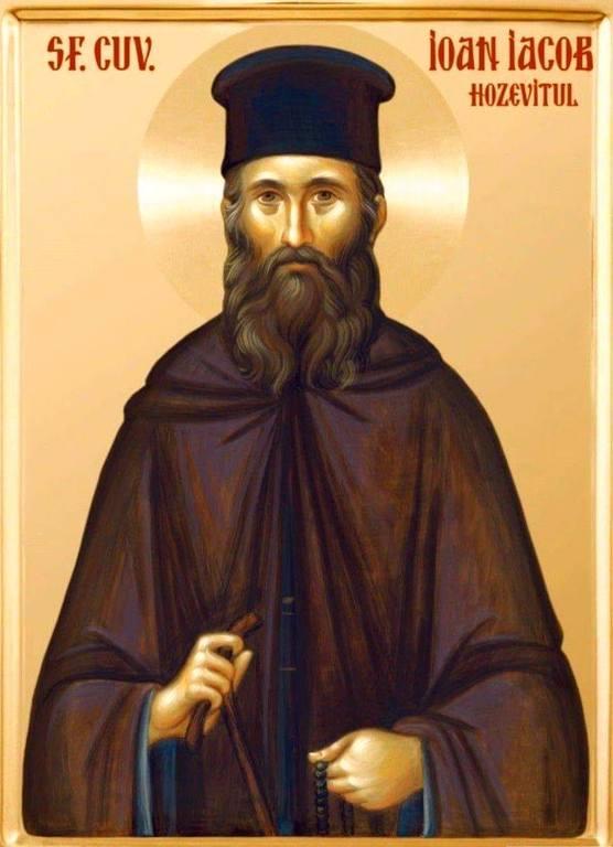 Святой Преподобный Иоанн (Якоб), Нямецкий, Новый Хозевит.