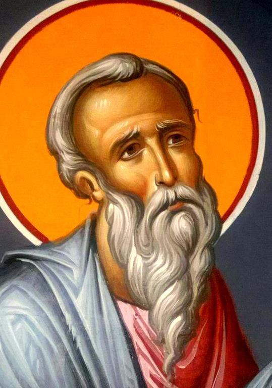 Святой Пророк Михей. Иконописец Зураб Модебадзе.