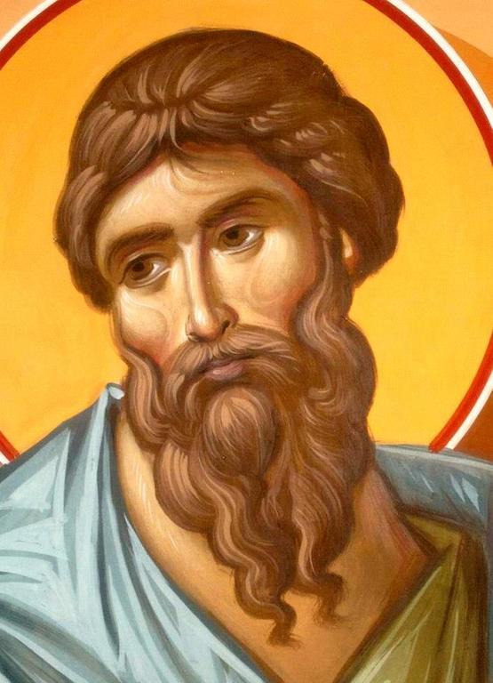 Святой Праведный Гедеон, судия Израильский. Иконописец Зураб Модебадзе.