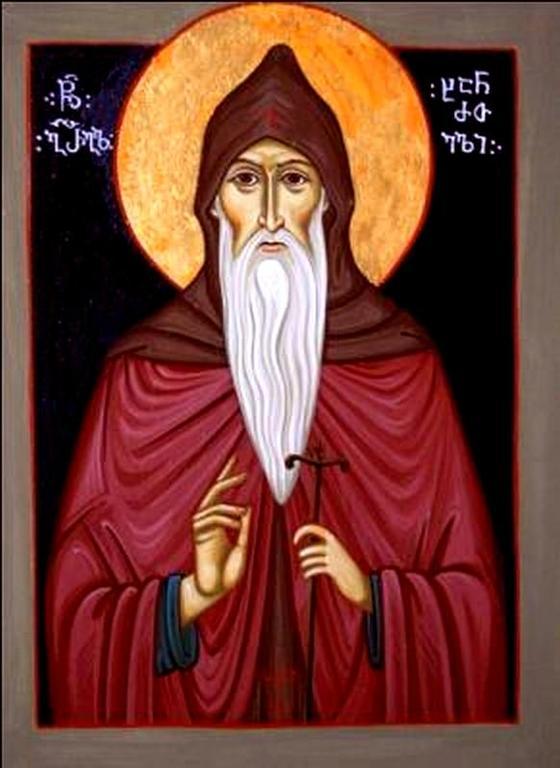 Святой Преподобный Григорий Хандзтийский (Григол Хандзтели).