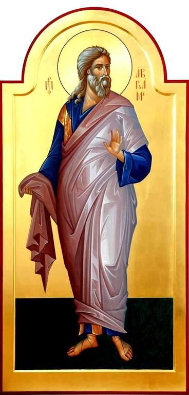 Святой Праотец Авраам. Современная икона.