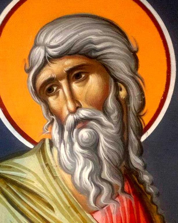 Святой Пророк Осия. Иконописец Зураб Модебадзе.