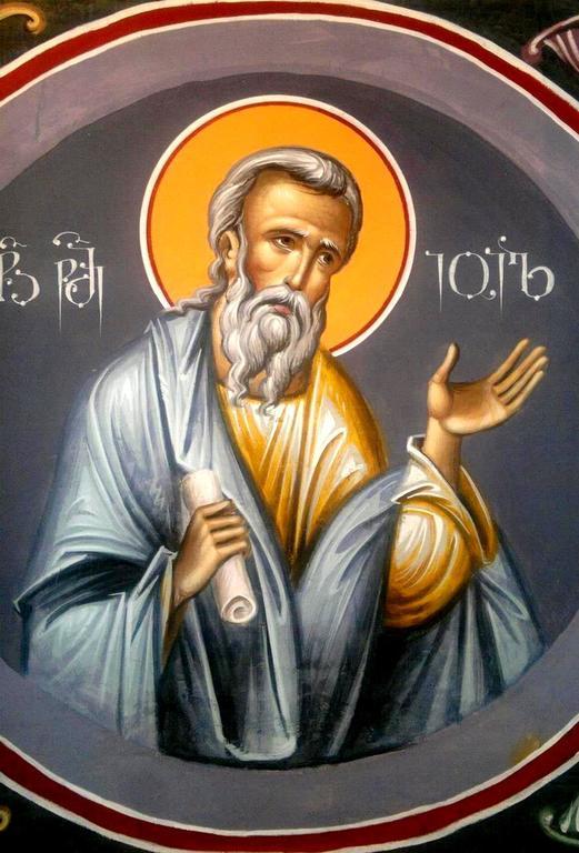 Святой Пророк Иоиль. Иконописец Зураб Модебадзе.