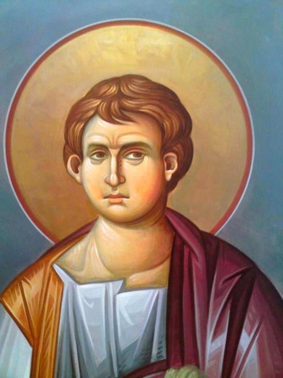 Святой Апостол Филипп. Современная церковная роспись.