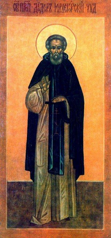 Святой Преподобный Дамиан, в схиме Диодор, Юрьегорский.