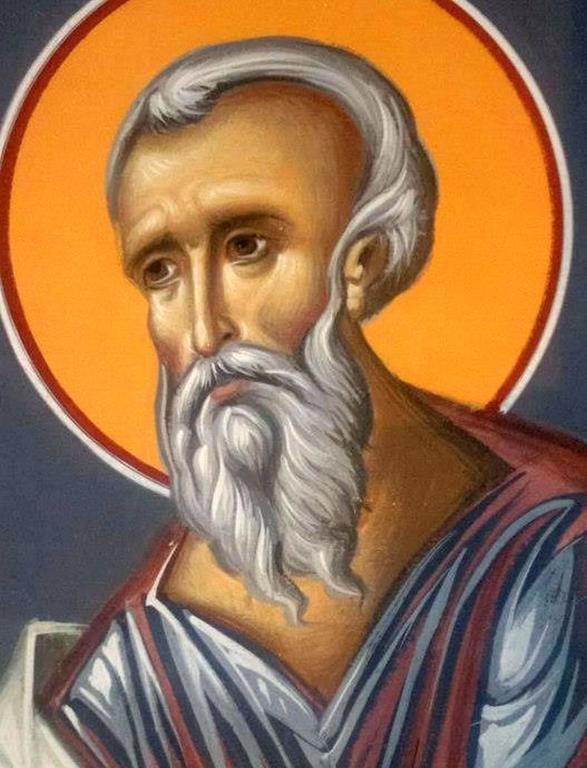Святой Пророк Наум. Иконописец Зураб Модебадзе.