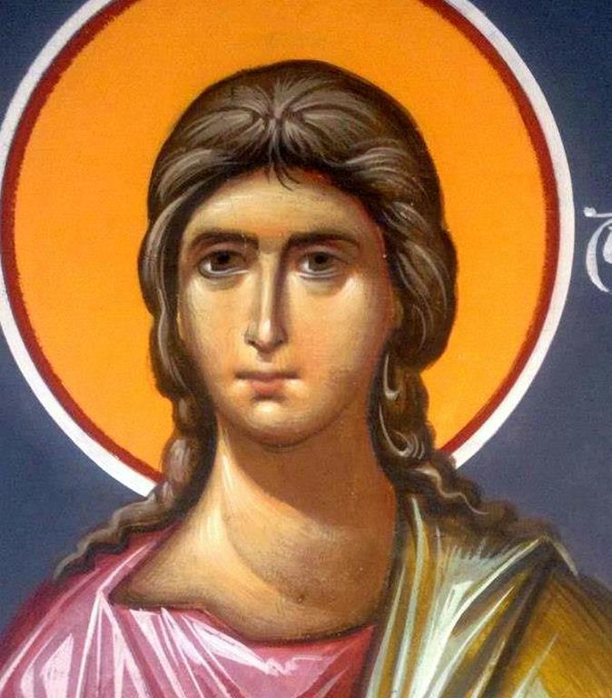 Святой Пророк Аввакум. Иконописец Зураб Модебадзе.