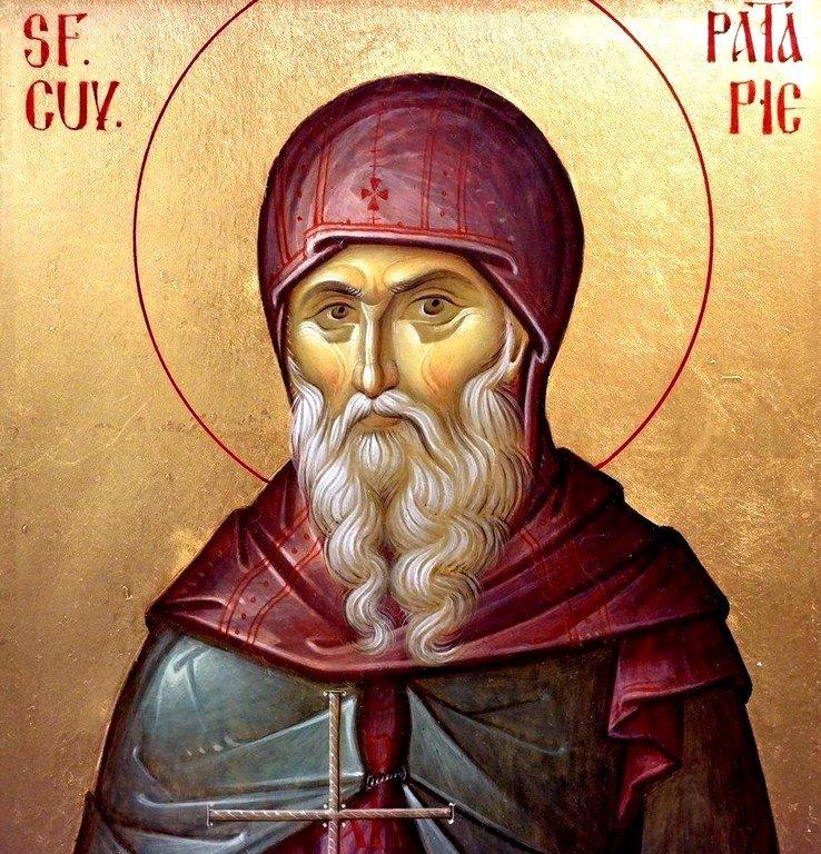 Святой Преподобный Патапий Фивский.