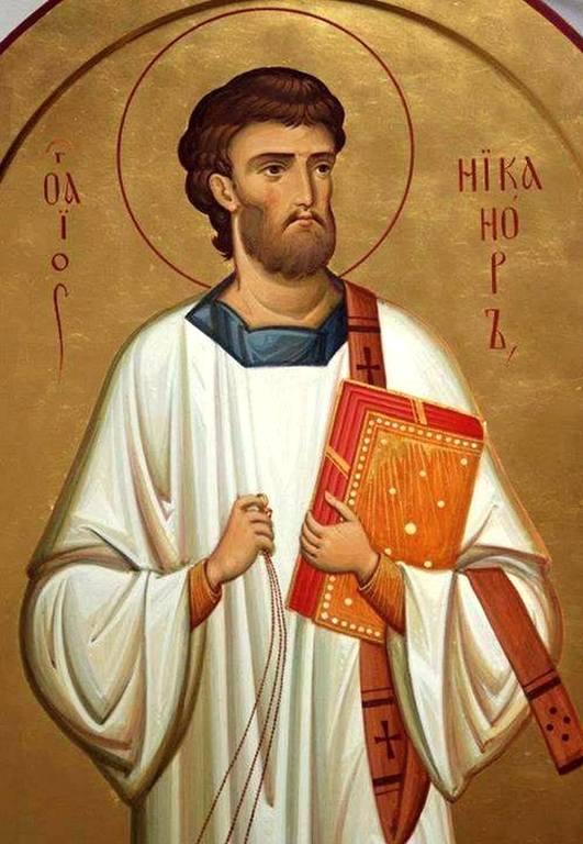 Святой Апостол от Семидесяти Никанор.