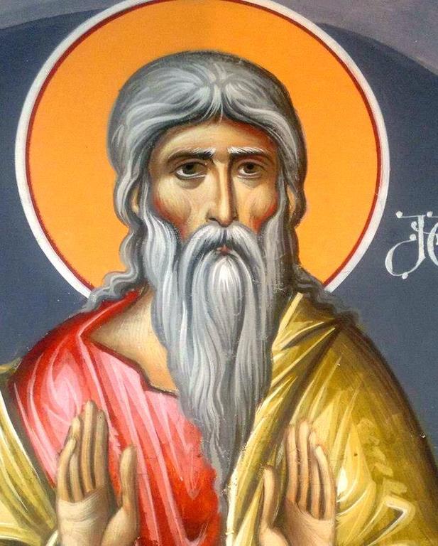 Святой Пророк Малахия. Иконописец Зураб Модебадзе.