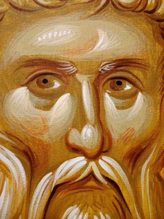 Священномученик Власий, Епископ Севастийский. Современная церковная роспись.