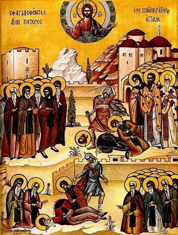 Святые 179 Преподобномучеников Дау-Пенделийских.
