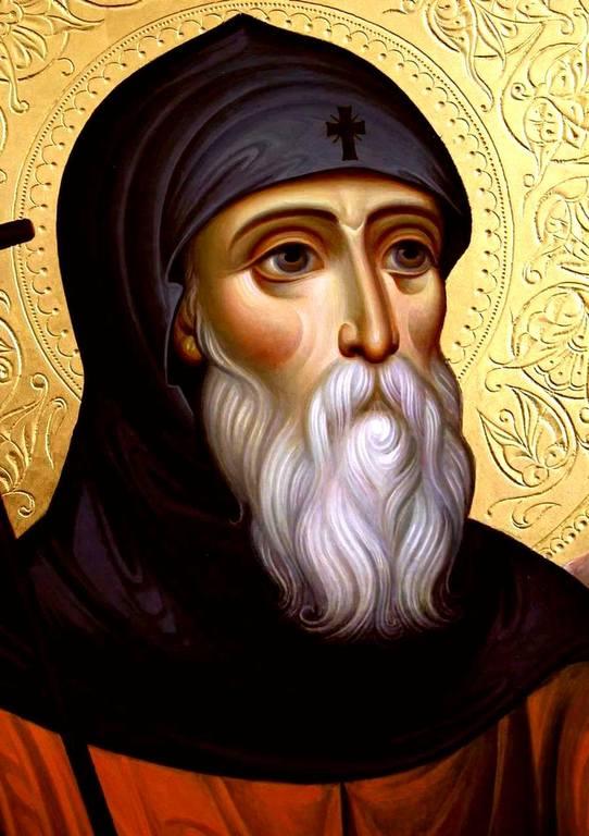 Святой Преподобный Давид Гареджийский.