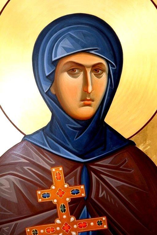 Святая Преподобная Евфросиния, игумения Полоцкая.