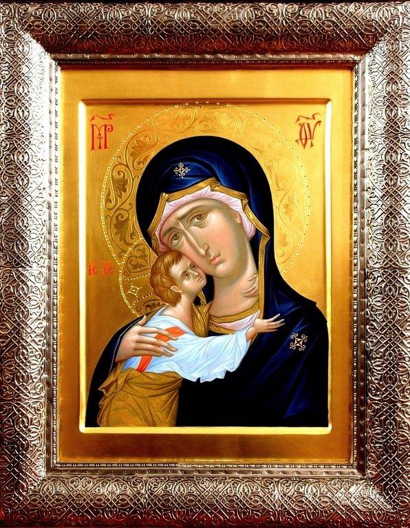 Игоревская икона Божией Матери. Иконописец Александр Деркачёв.