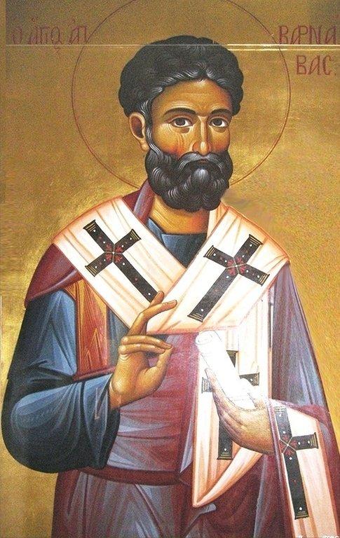 Святой Апостол от Семидесяти Варнава.
