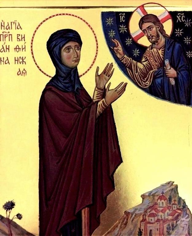 Святая Преподобная Анна Вифинская.