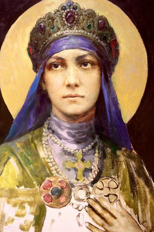 Святая Преподобная Ангелина Сербская.