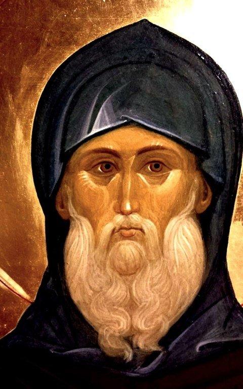 Святой Преподобный Андрей Рублёв, иконописец.