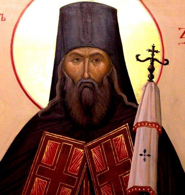 Святитель Тихон Задонский, Епископ Воронежский.