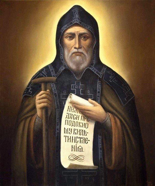 Святой Преподобный Иов, игумен Почаевский.